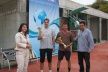 Darik radio by winning the tennis tournament