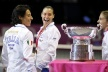 Italy's team triumphed in Fed Cup for the third time in history