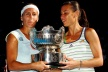 Pennetta beat Dulko and female couples in Melbourne
