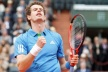 Andy Murray continued in the third round at Roland Garros
