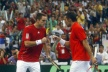 Serbia won the doubles match and came back in the game