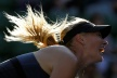Sharapova withdrew because of ankle injury