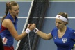 Czech Republic a 2-1 lead in Fed Cup for Russia