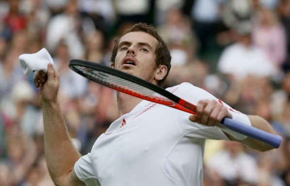 "Murray goes against Tsonga in the second semifinal of ""Wimbledon"""