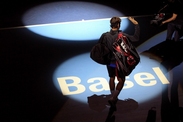 Roger Federer began with the victory his participation in the tennis tournament in Basel