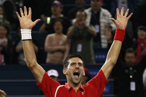 Nole ends 2012th as № 1 in the world