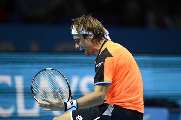 David Ferrer started with a victory in London