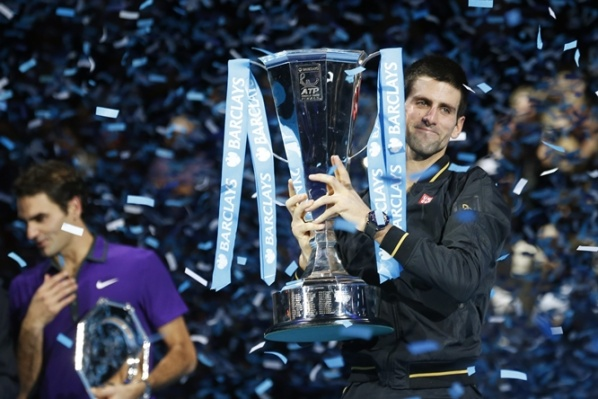 Djokovic defeat Federer and finish the year as Champion