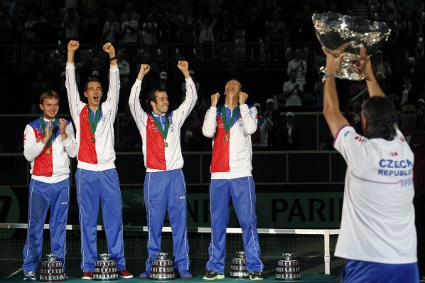 Czech Republic beat Spain in the final of Davis Cup, took the trophy for the first time