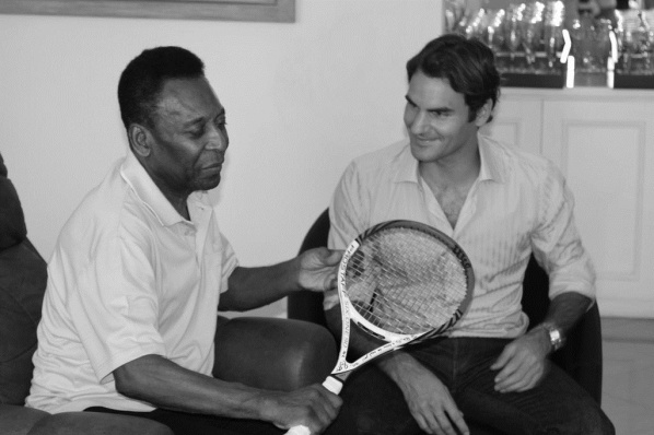 Meeting of the Kings: Pele and Federer in Brazil