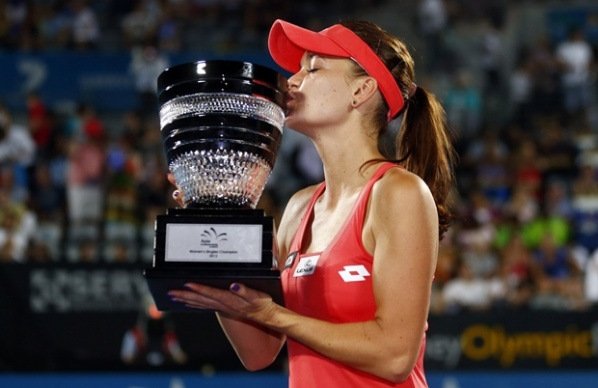 Radwanska ran over Cibulkova in the final in Sydney and defend her title