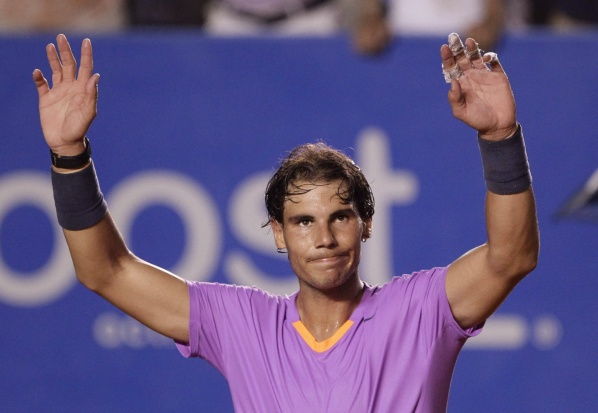 Nadal and Ferrer continues convincingly in Acapulco