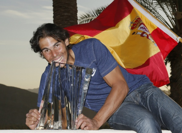 Nadal gave a request for leadership after winning at Indian Wells