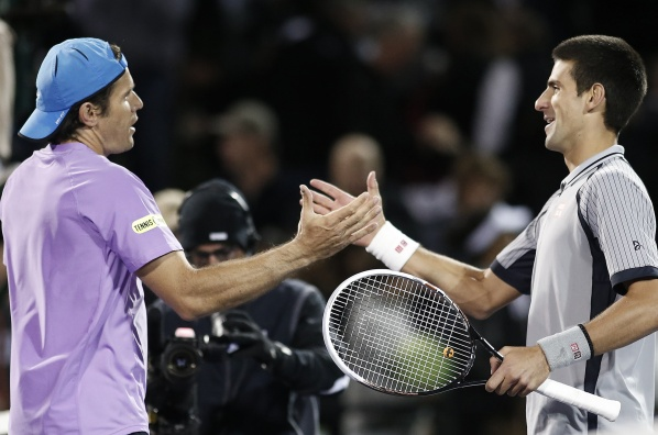 Tommy Haas eliminate Novak Djokovic in Miami