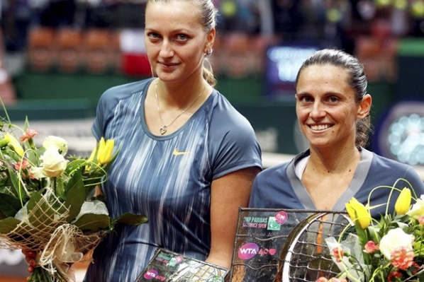 Vinci with tenth WTA title after beating Kvitova in the final in Katowice