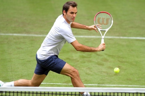 Federer with a strong start in Halle