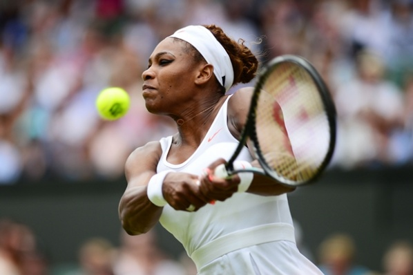 Serena smashed the Spaniard in 1/4-final in Bashtad