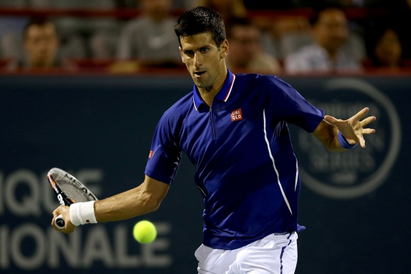 Djokovic convincing in his first match since Wimbledon