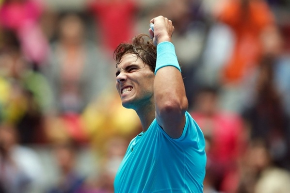 Rafa Nadal takes a step closer to the first place