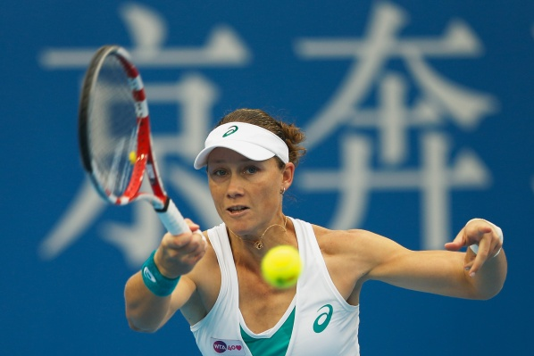 Stosur won the title for a second time in Osaka