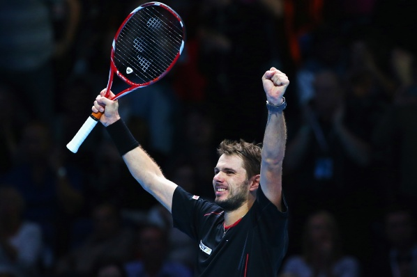 Wawrinka opened the World Cup final round with a victory over Berdych
