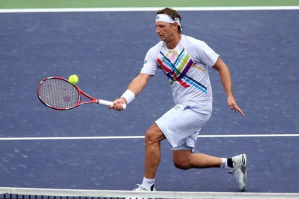 "David Nalbandian said ""goodbye"" to the tennis with a loss from Nadal"