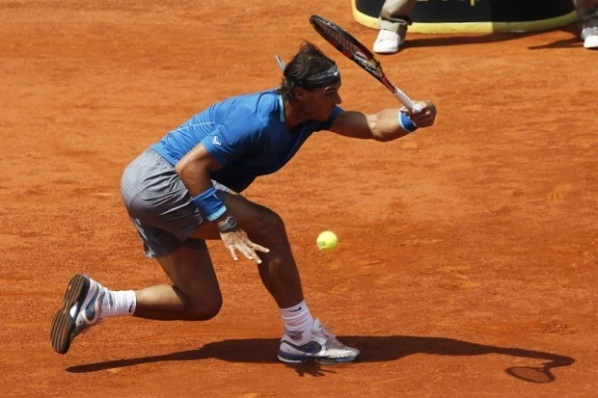 Nadal knocked Berdych for the semifinals in Madrid