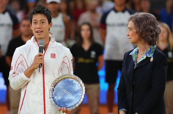 "Nishikori will not play in Rome, to be ready for ""Roland Garros"""