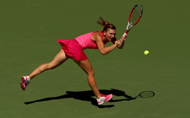 Simona Halep lost a set at the start of the US Open, but won