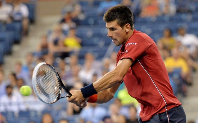 Novak Djokovic had no trouble in the first round