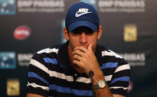 Del Potro is back in action in early 2015