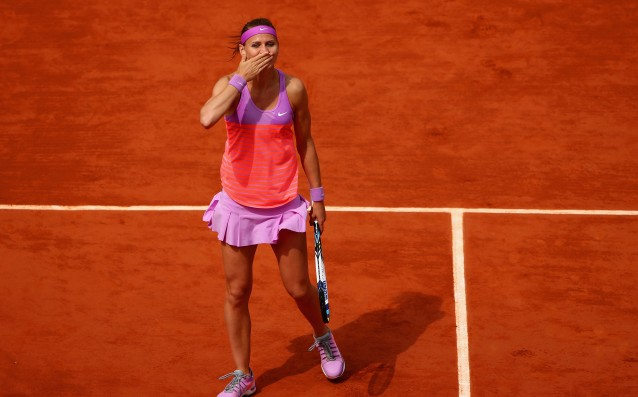 Safarova is going to continue her presentation in Paris
