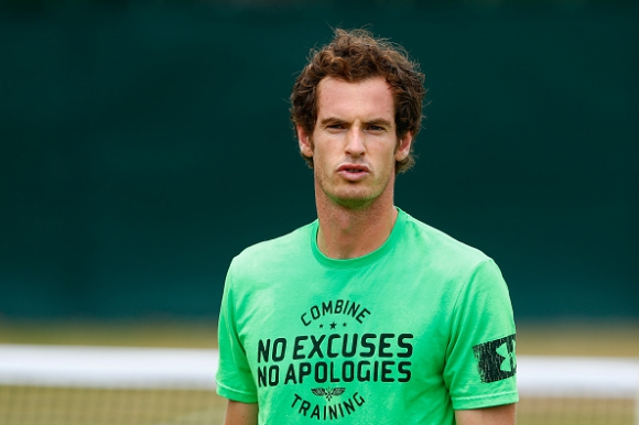 Andy Murray is back on the British team for 'Davis Cup'
