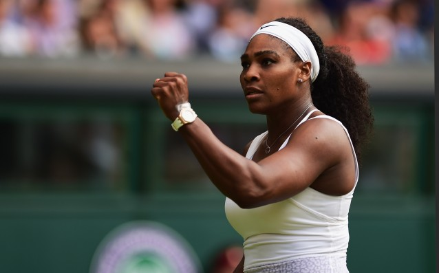 Serena Williams is already in the third round of the tournament in Toronto