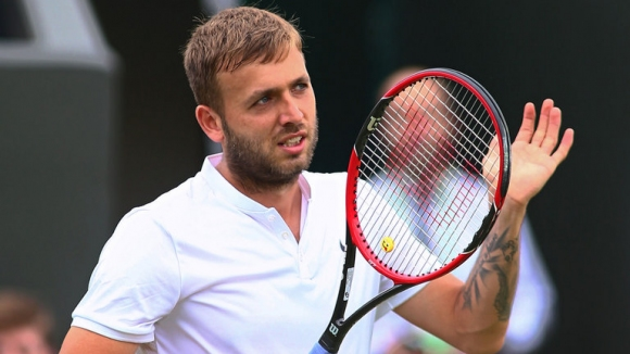 Dan Evans was suspended from tennis for cocaine use